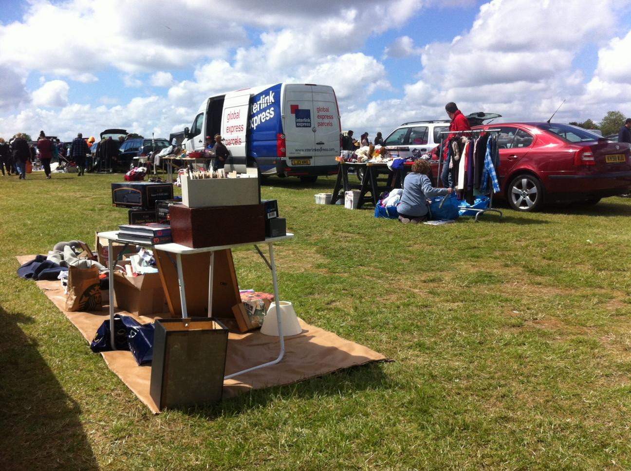 Pease Pottage Car Boot Sale